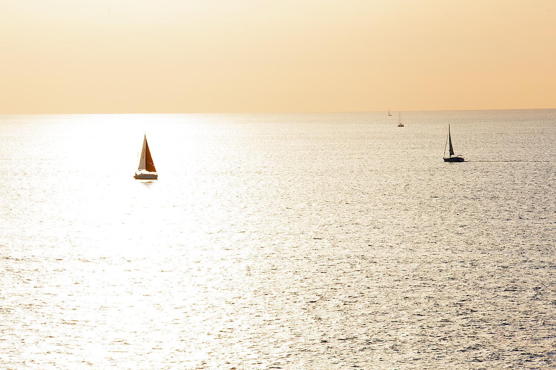 A red sail