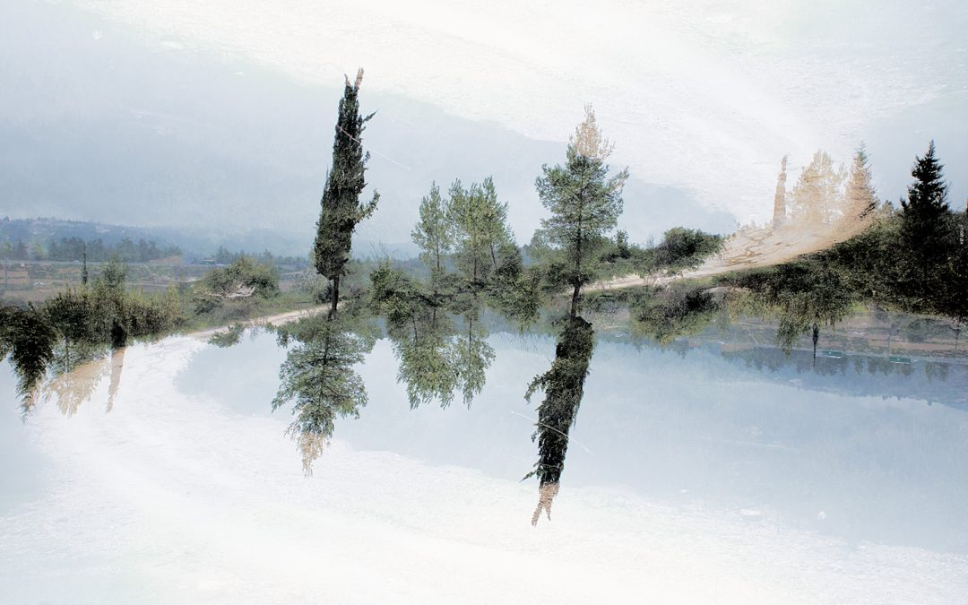 Double Exposure Opposite Worlds Photography