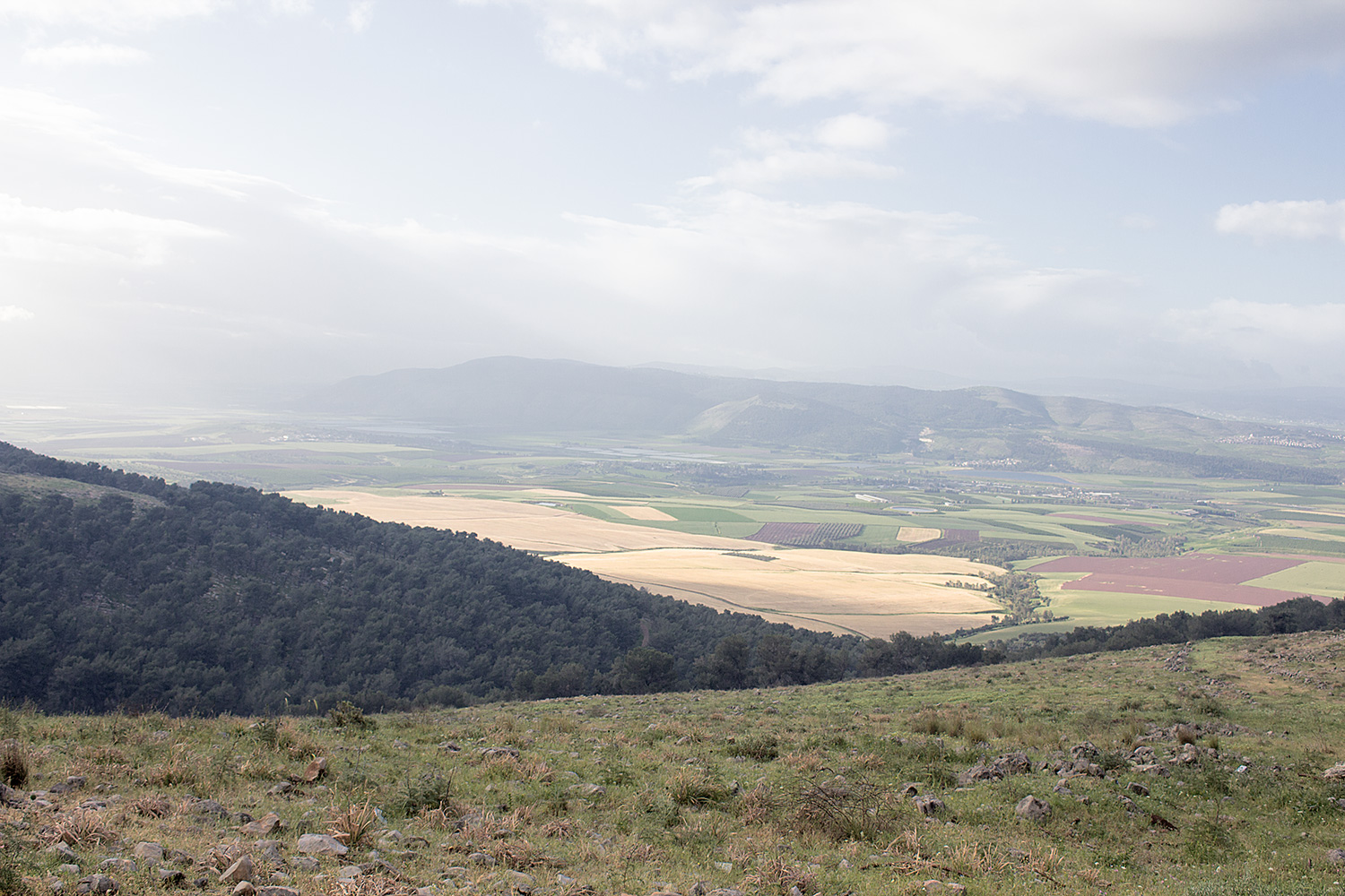 Gilboa Mt. from Hamoreh Hill