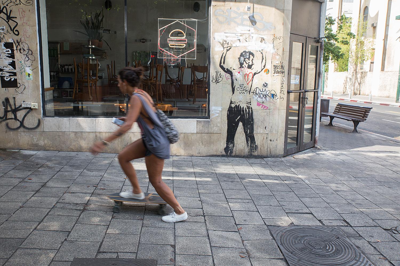 Allenby st. Tel Aviv